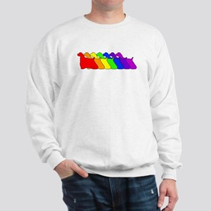 Rainbow Cocker Spaniel Sweatshirt